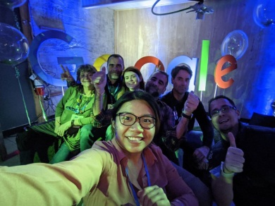 Google Local Guides Connect Live 2019 Party